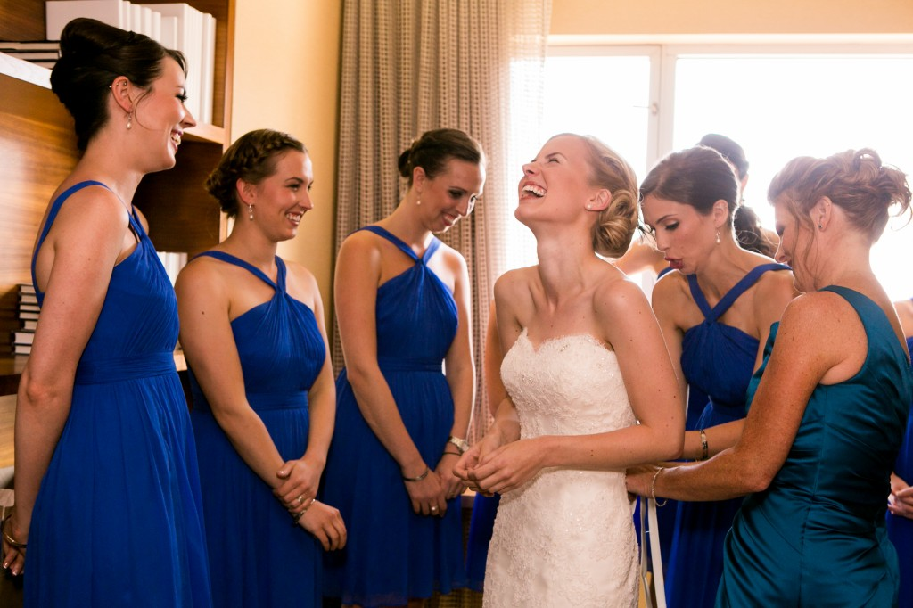 Bridal Party Hairstyling Wedding Day Service